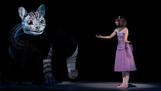Alice's Adventures in Wonderland by Christopher Wheeldon, music by Joby Talbot – With Lauren Cuthbertson, Christopher Saunders, Steven McRae...