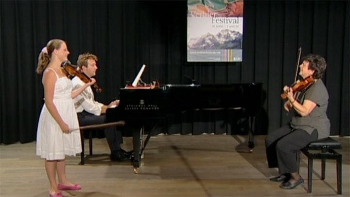 Ana Chumachenco teaches Mozart: Violin Concertos No. 3, 4 and 5