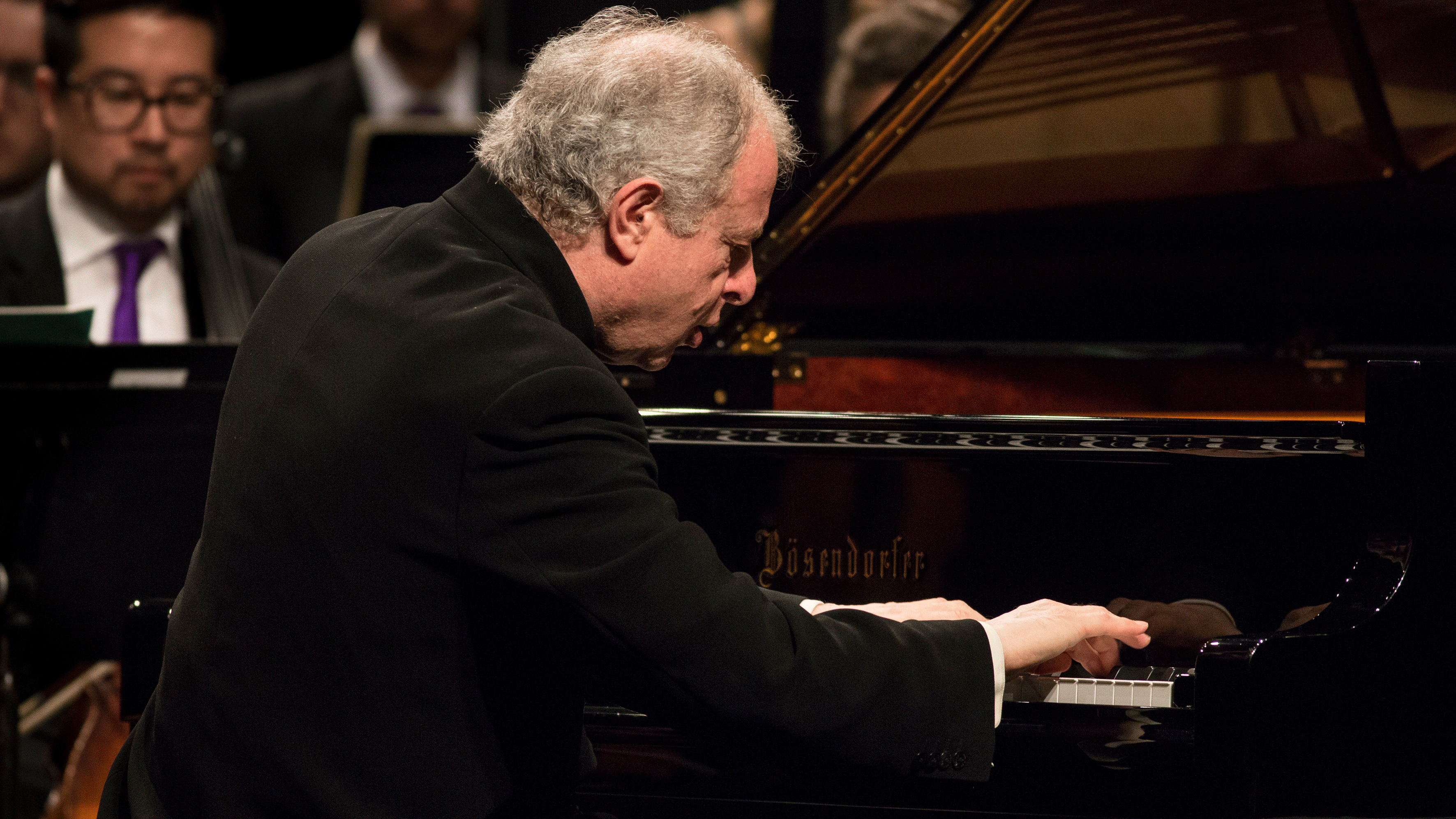 Sir András Schiff conducts and performs Bach, Haydn, and Beethoven