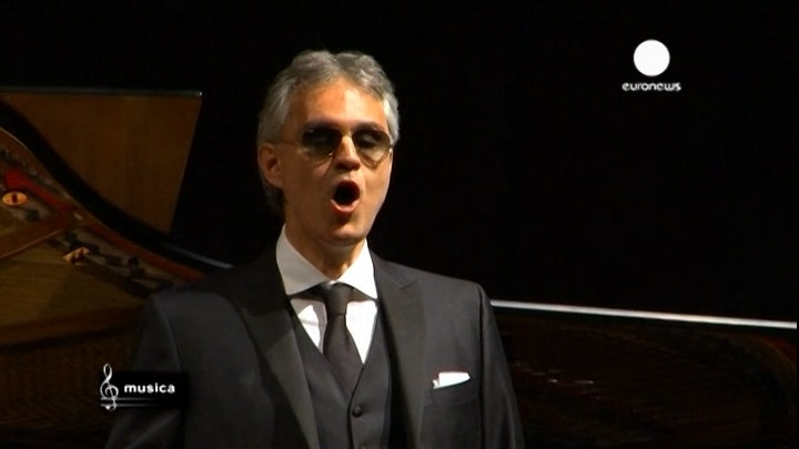 Andrea Bocelli: a man of good will