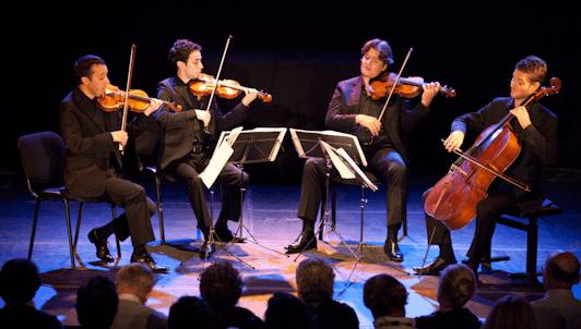 Nicholas Angelich et le Quatuor Ébène jouent Franck et Beethoven