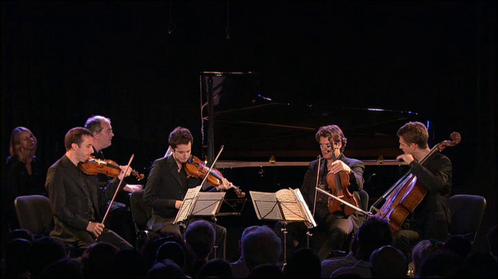 Nicholas Angelich and the Ébène Quartet perform Franck and Beethoven
