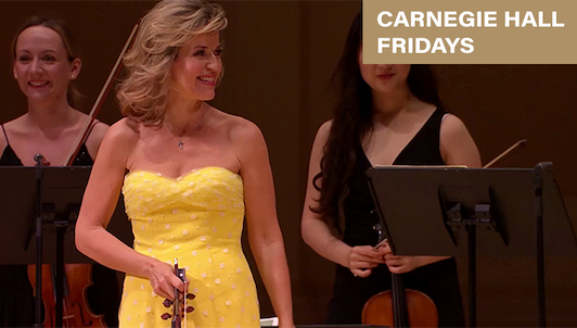 Anne-Sophie Mutter performs Bach, Previn and Vivaldi – With the Mutter Virtuosi