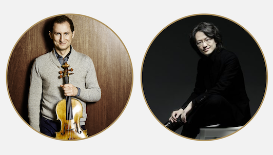 Antoine Tamestit and Masato Suzuki play an all-Bach program