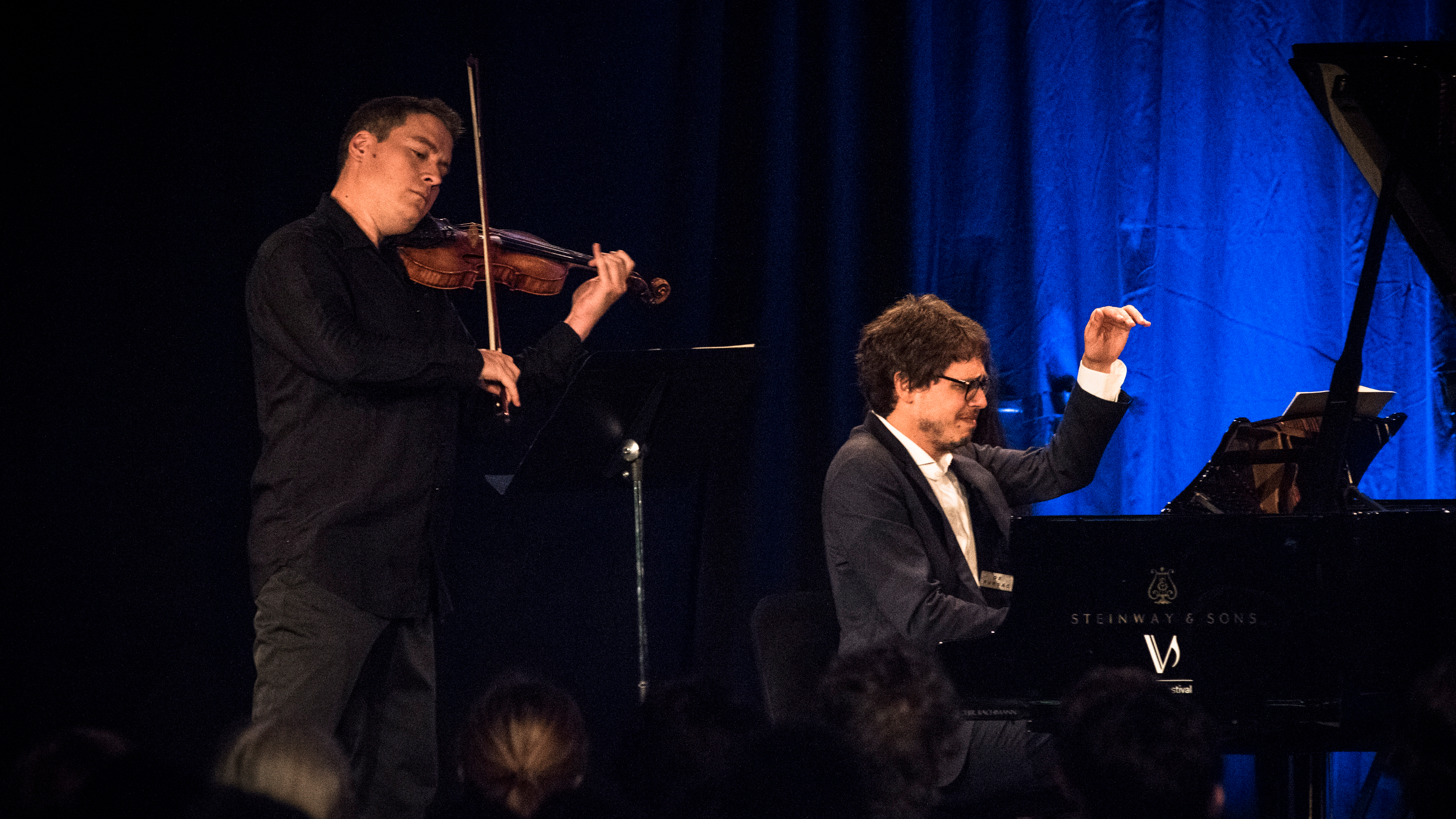 Kristóf Baráti and Lucas Debargue perform Debussy, Brahms, and Franck