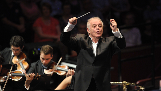 Daniel Barenboim conducts Beethoven's Ninth Symphony at the BBC Proms