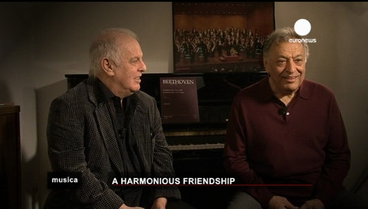 Barenboim and Mehta: a harmonious friendship
