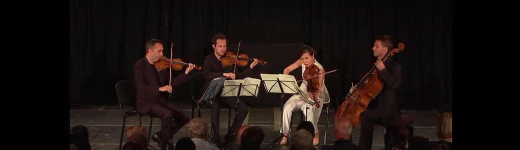 The Ébène Quartet plays Mendelssohn