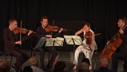 The Ébène Quartet plays Mendelssohn