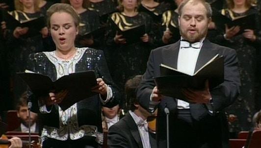 Jiří Bělohlávek dirige le Te Deum de Dvořák