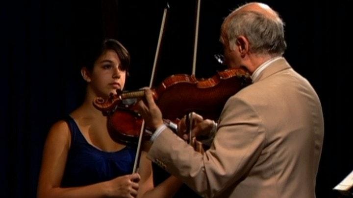 Boris Kuschnir teaches Mozart: Violin Concerto No. 4