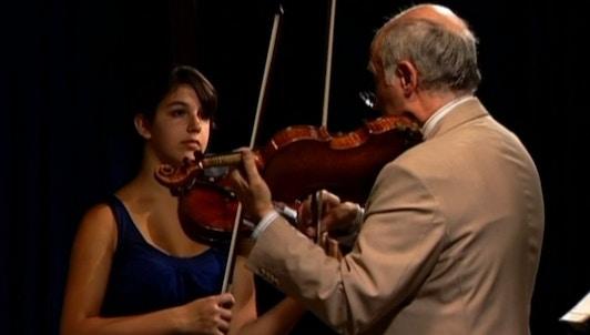 Boris Kuschnir enseigne Mozart : Concerto pour violon n°4