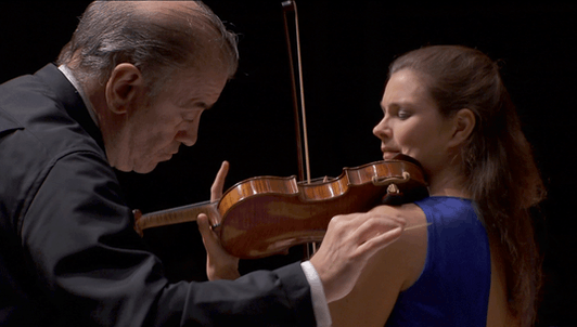 Valery Gergiev conducts Brahms and Szymanowski — With Janine Jansen