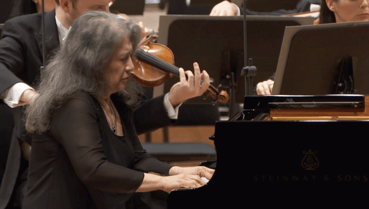 Charles Dutoit conducts Berlioz, Beethoven, and Ravel — With the Orchestre symphonique de Montréal, and Martha Argerich