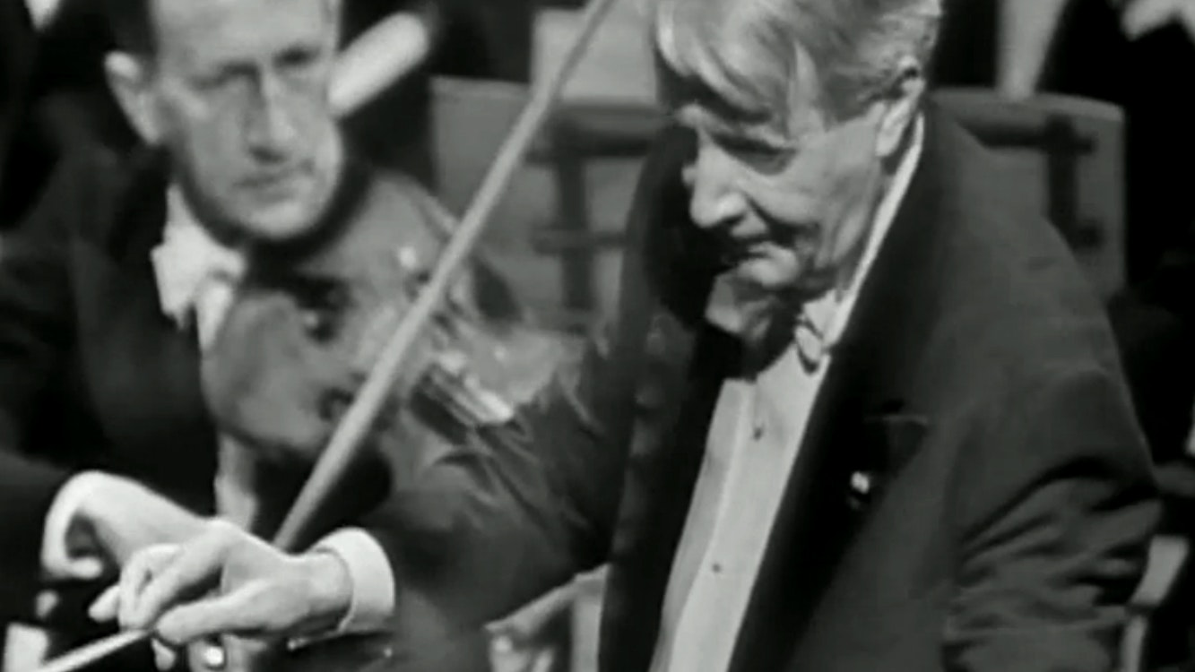 Charles Munch conducts Handel and Mozart