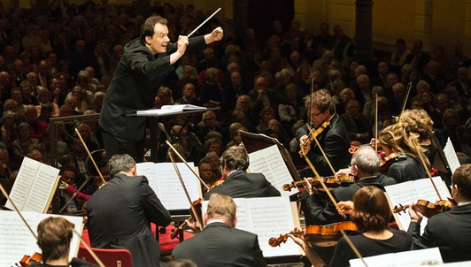 Andris Nelsons conducts Flothuis, Strauss, and Shostakovich — With Alexei Ogrintchouk