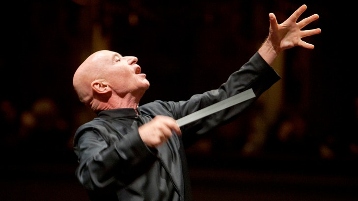 Christoph Eschenbach conducts Rihm and Bruckner