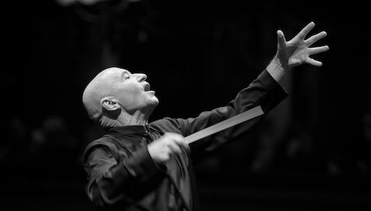 Christoph Eschenbach dirige Rihm et Bruckner