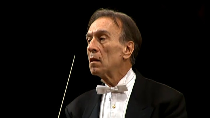 Claudio Abbado conducts Beethoven's Symphony No. 2