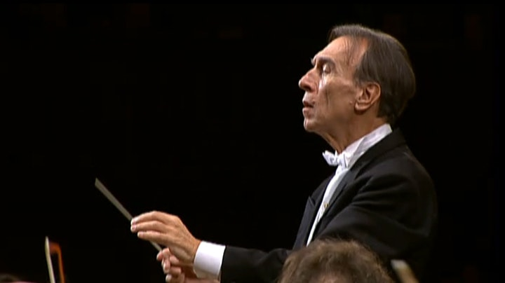 Claudio Abbado conducts Beethoven's Symphony No. 8
