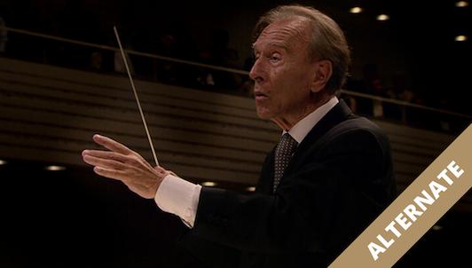 REMPLACEMENT : Claudio Abbado dirige la Symphonie n°9 de Mahler