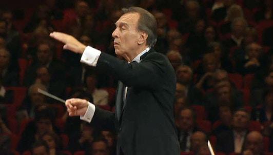 Claudio Abbado dirige la Sinfonía n.° 9 de Mahler