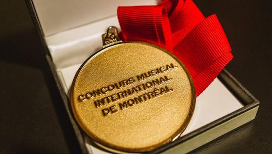 Concours musical internacional de Montreal: Ceremonia de premiación