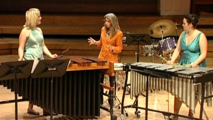 Master Class with Dame Evelyn Glennie: Marimba Spiritual & Toccata for Marimba and Vibraphone