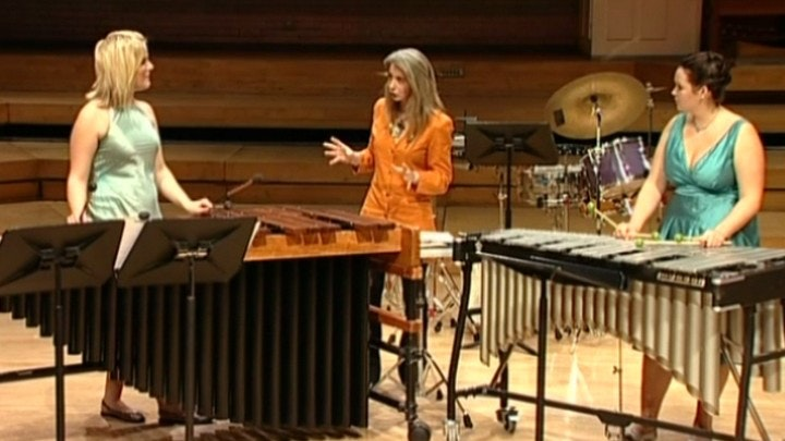 Master Class with Dame Evelyn Glennie: Marimba Spiritual & Toccata for Marimba and Vibraphone