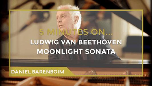 Daniel Barenboim, la Sonate « Clair de lune » de Beethoven