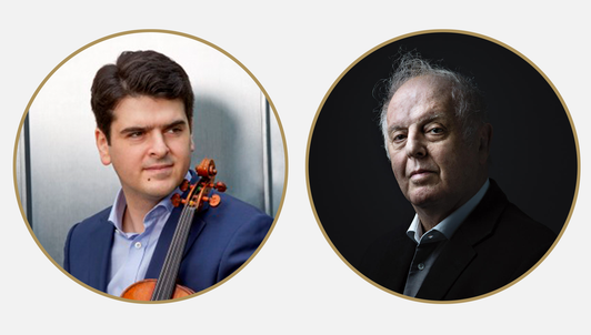 Daniel Barenboim and Michael Barenboim play Mozart's Violin Sonatas (II/II)