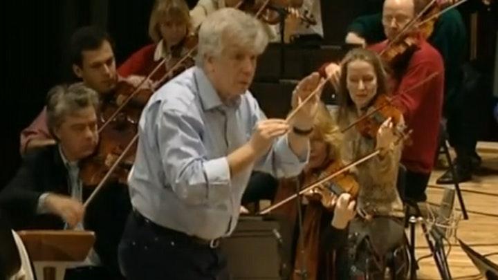 Christoph von Dohnanyi Rehearses Haydn's Symphony No. 88