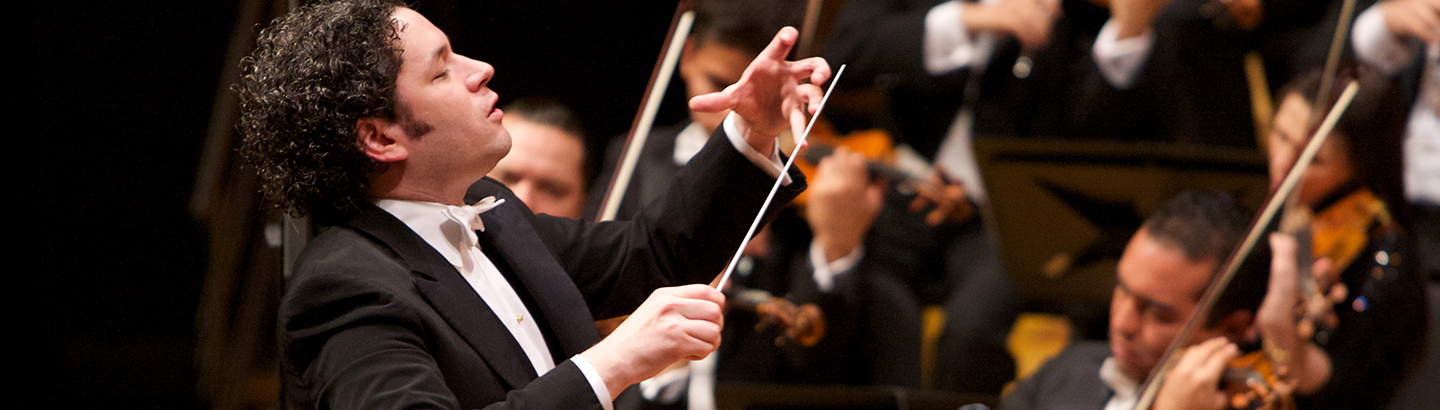 Gustavo Dudamel conducts Beethoven's Symphonies No. 7 and No. 8
