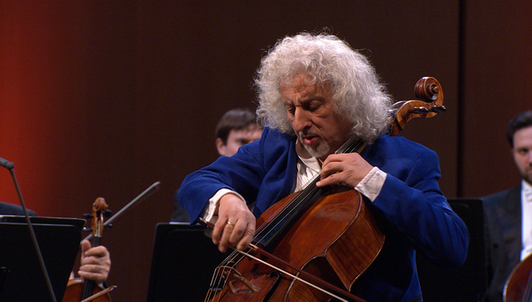 Mischa Maisky plays Dvořák's Cello Concerto