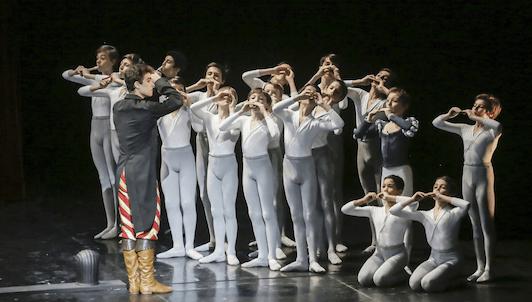 Les Enfants de Scaramouche de François Roussillon d'après le ballet Scaramouche de José Martinez