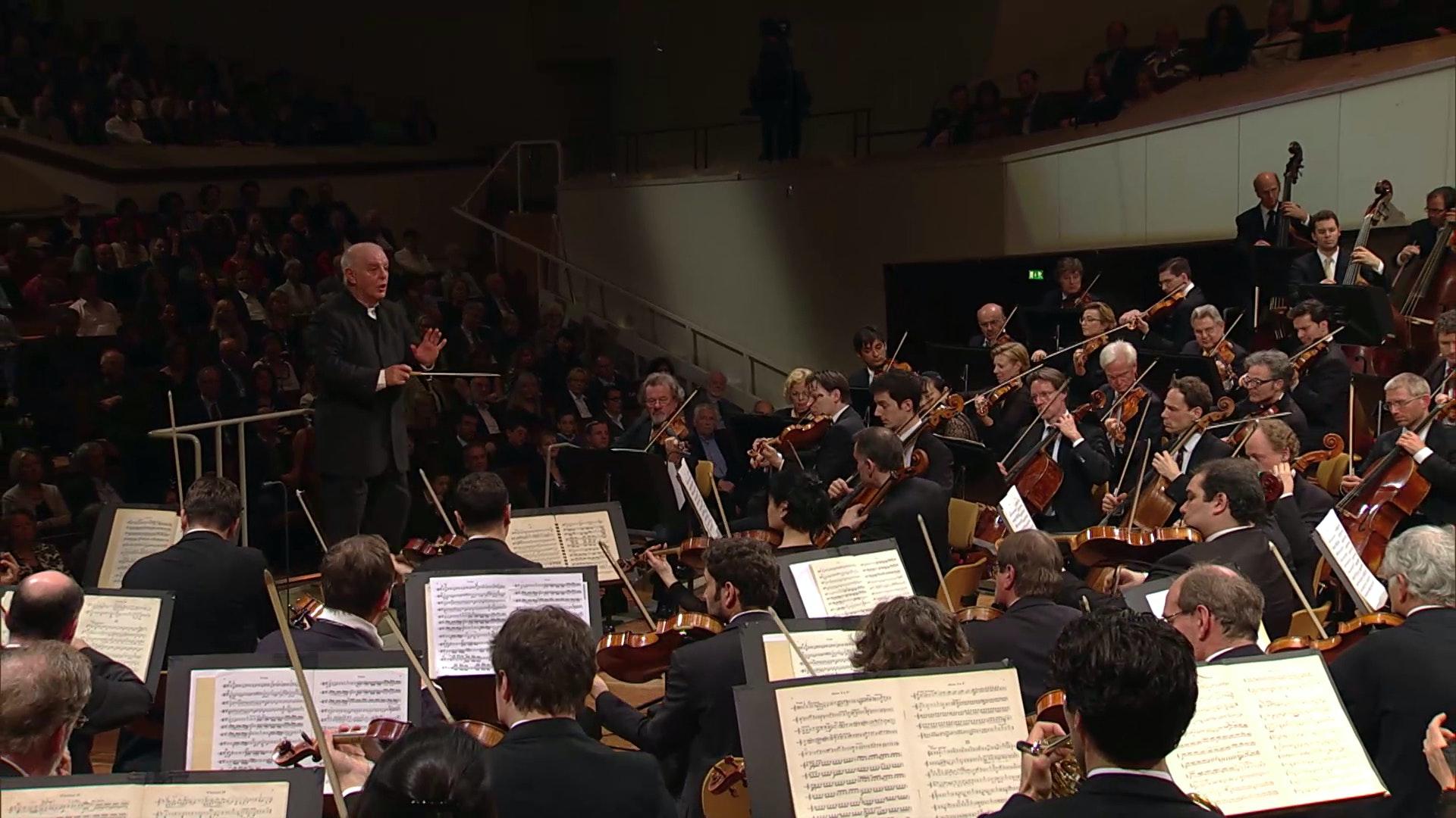 Daniel Barenboim conducts Nicolai, Elgar and Tchaikovsky