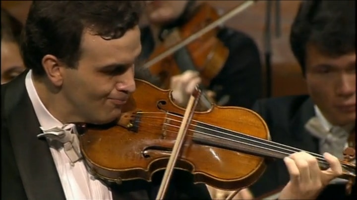 Gil Shaham and Claudio Abbado play Brahms