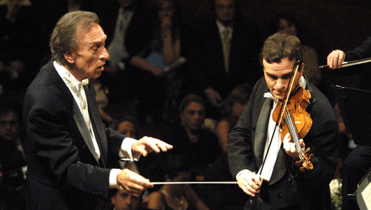 Claudio Abbado conducts Brahms – With Gil Shaham