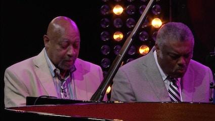 Une soirée en compagnie de Mulgrew Miller, Kenny Barron, Benny Green, Eric Reed et deux pianos - Live au festival Jazz à Vienne