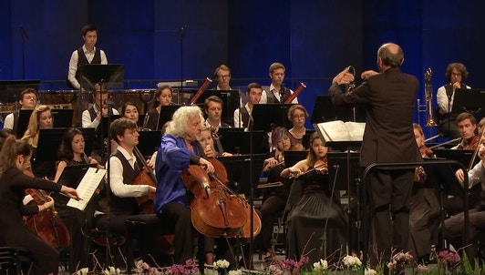 François López-Ferrer, Gabor Takács-Nágy, and Sir Simon Rattle conduct Bernstein, Dvořák, and Beethoven – With Mischa Maisky