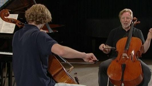 Frans Helmerson enseigne Dvořák : Concerto pour violoncelle en si mineur