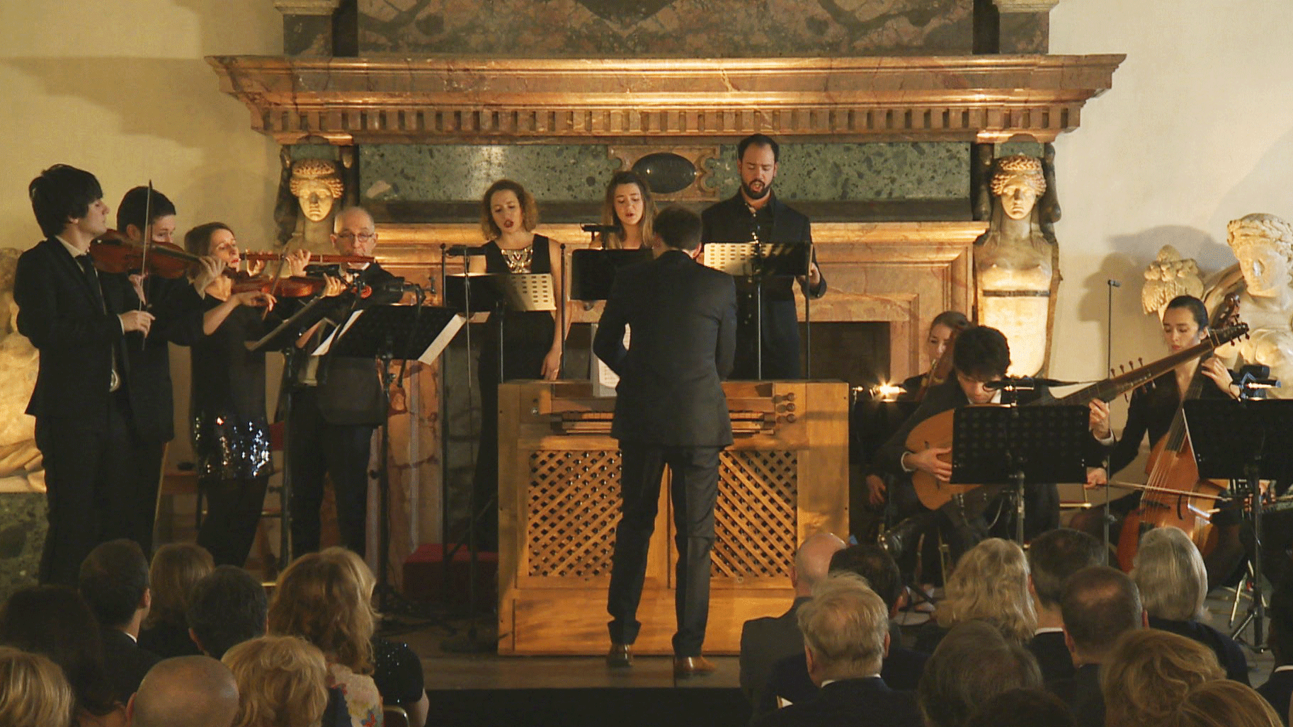 Gaétan Jarry conducts Charpentier and Carissimi