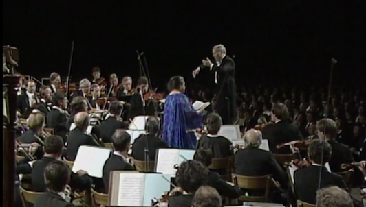 Georges Prêtre conducts an all-Strauss gala — With Margaret Price