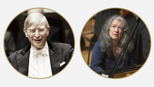 Herbert Blomstedt conducts Beethoven — With Martha Argerich