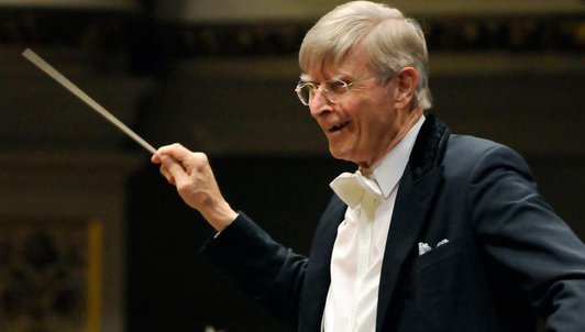 Herbert Blomstedt conducts Berwald and Dvořák
