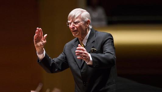 Herbert Blomstedt dirige Bruckner