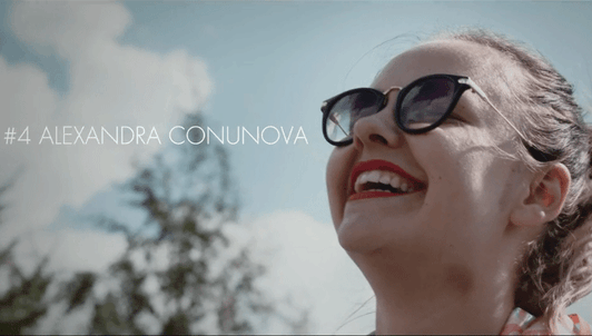 Throwback #4, interview with Alexandra Conunova