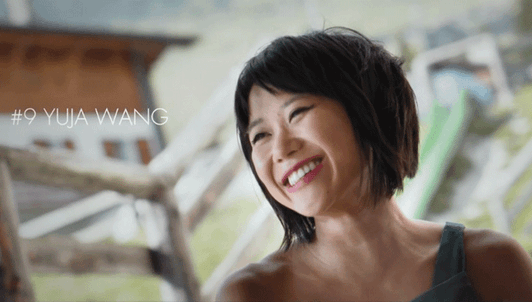 Throwback #9, interview with Yuja Wang