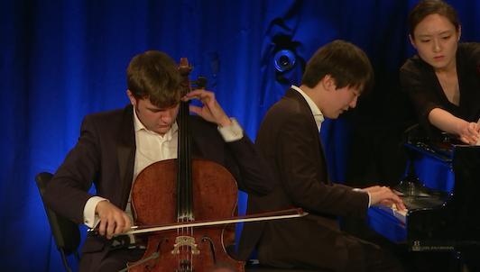Andrei Ioniţă and Seong-Jin Cho play Cassadó, Beethoven, Schumann, and Shostakovich