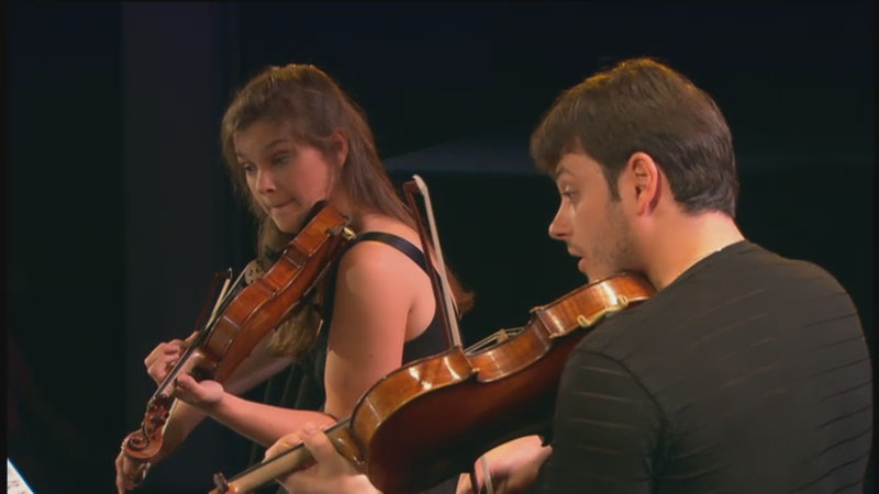 Janine Jansen, Lars-Anders Tomter, Torleif Thedéen and Nelson Goerner play Fauré Piano Quartet